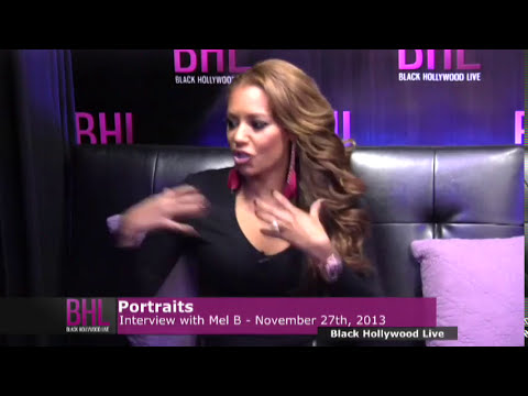 Portraits w/ Mel B | November 27th 2013 | Black Hollywood Live