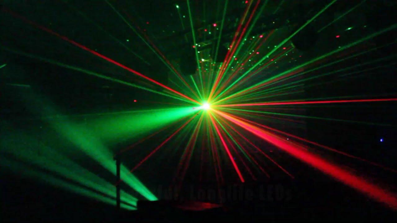 Ekho Sphinx Dual Led Lens Amp Laser Disco Light Youtube