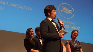 Benicio del Toro Sppech at Closing Ceremony of