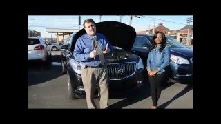 How to open the hood latch on your Buick Enclave Verano Encore or LaCrosse