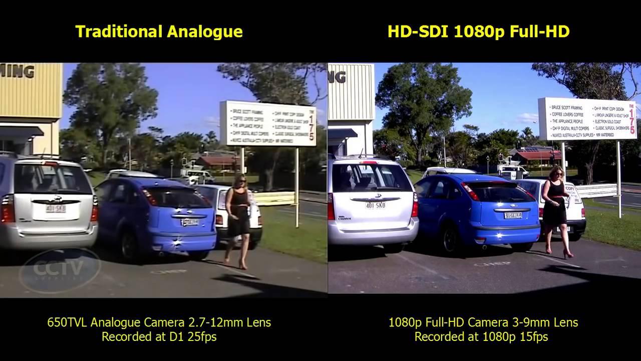 Hikvision 1080p Hd V Analogue Camera Youtube
