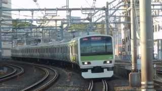 山手線E231系『SUPERNAL LIBERTY』トウ507編成 御徒町駅到着!