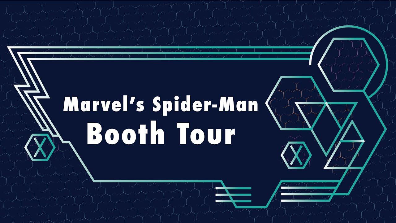 Marvel's Spider-Man (PS4) Booth Tour   Marvel @ E3 2018