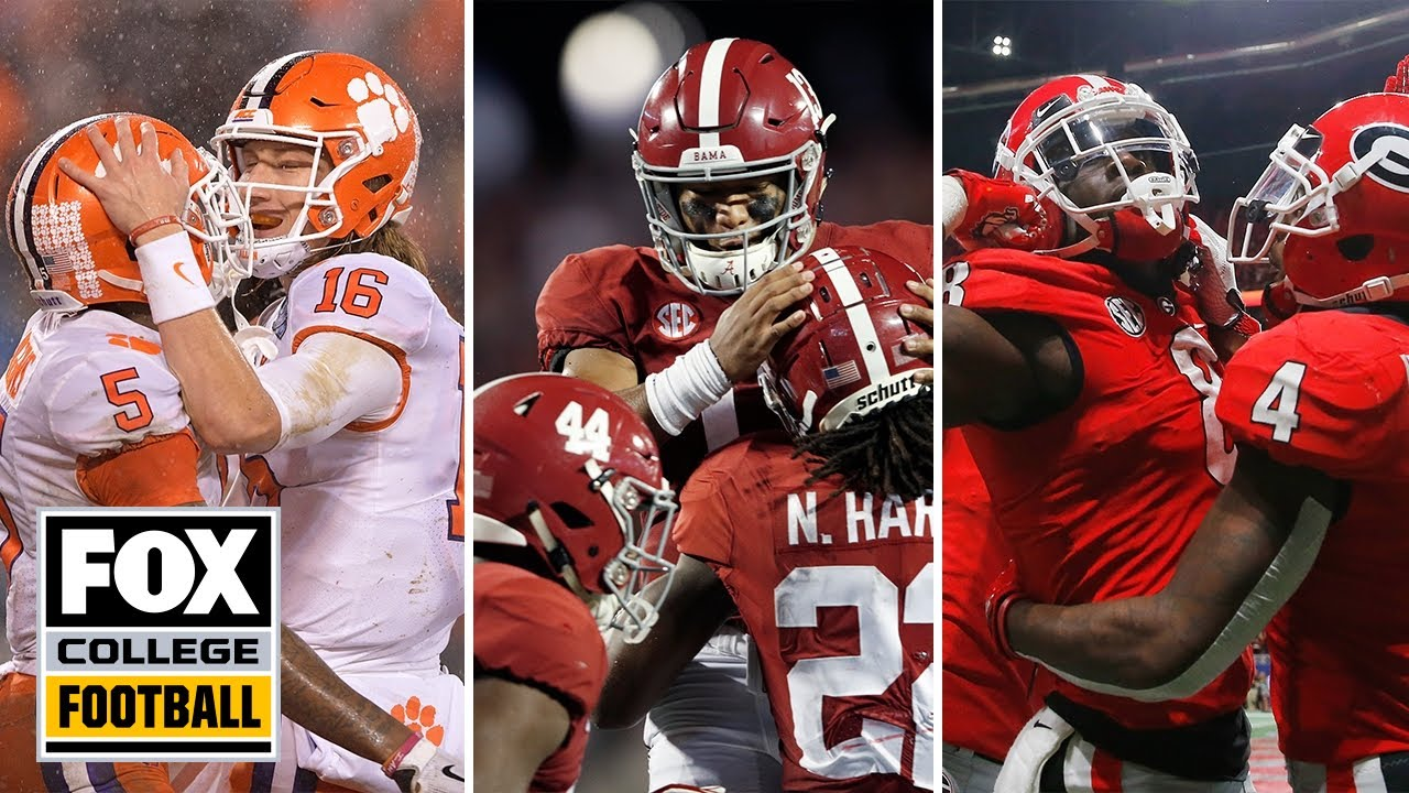 Joel Klatt's Top 25 Teams for the 2019 College Football Season  COLLEGE FOOTBALL