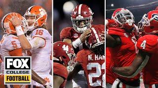 Joel Klatt's Top 25 Teams for the 2019 College Football Season | FOX COLLEGE FOOTBALL