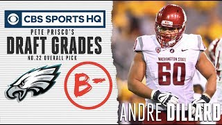 Can Andre Dillard  handle the physicality of the run game? | NFL Draft 2019 | CBS Sports HQ