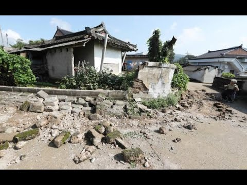Most POWERFUL EARTHQUAKE in SOUTH KOREAN History | Troubling Quake shakes Asia