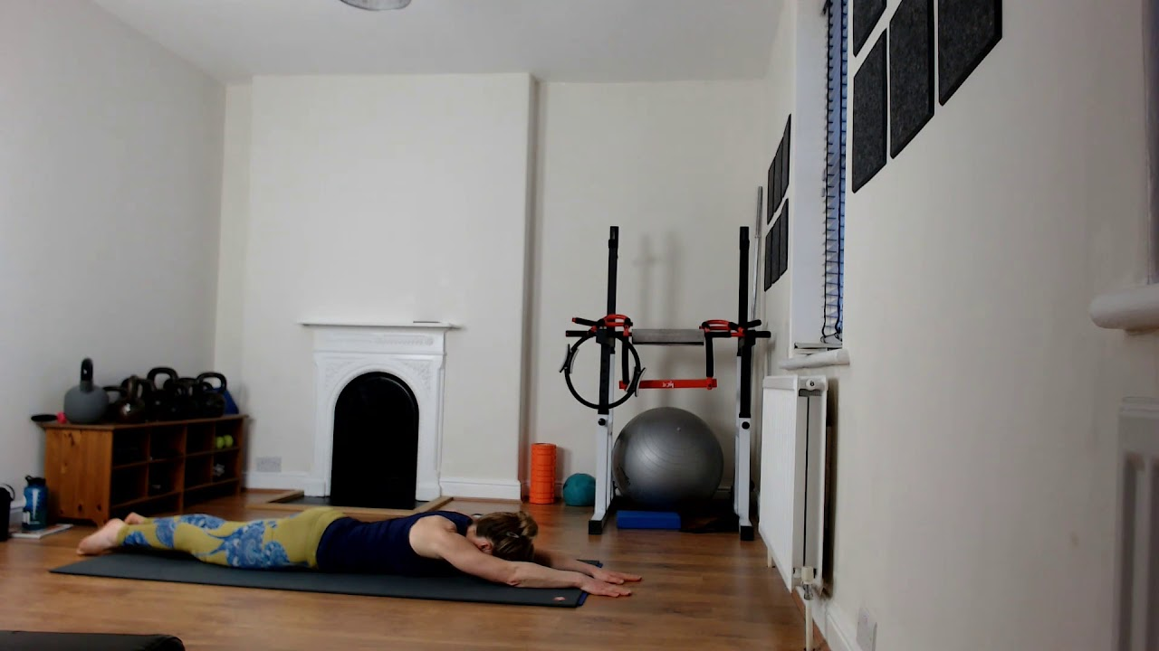Pilates with small ball