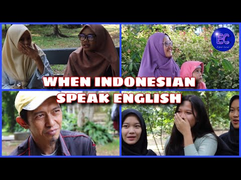 WHEN INDONESIAN SPEAK ENGLISH// SOCIAL EXPERIMENT