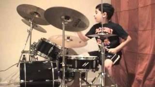 Baixar Rush - Tom Sawyer Drum Cover Raghav 6 year old drummer