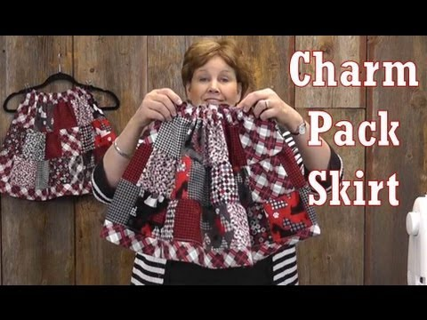 The Adorable Charm Pack Skirt Youtube