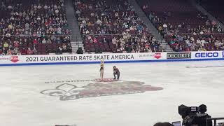 Skate America 2021 Evgenia Tarasova and Vladimir Morozov