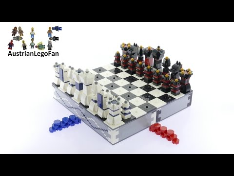 Lego 40174 Lego Chess - Lego Speed Build Review