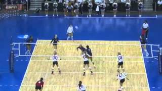 PENN STATE vs WISCONSIN NCAA 2014 REG FINALS [Set 1]