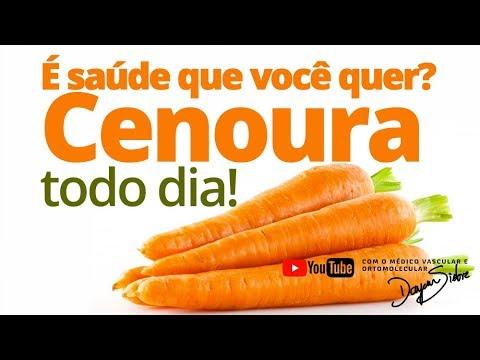 10 benefícios da cenoura para a saúde e beleza 🥕🥕 | Dr. Dayan Siebra