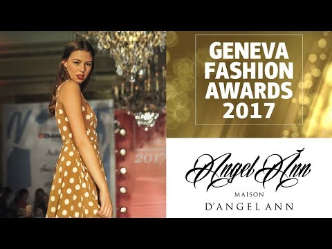 Angel Ann at the Geneva Fashion Awards 2017
