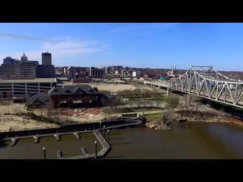 Flying Under Bridges! Phantom 3 Standard | Peoria IL #Drone
