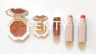 Fenty Beauty Review   Killawatt Highlighters, Match Stix, Gloss Bomb