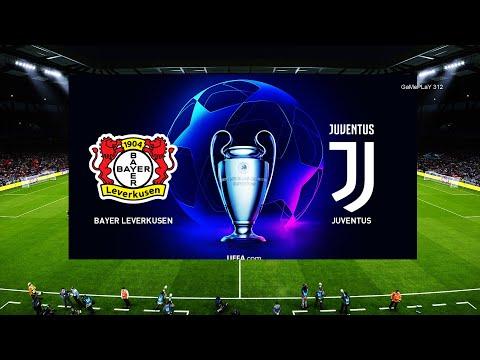 PES 2020 - Bayer Leverkusen Vs Juventus FC - UEFA Champions League UCL - Gameplay PC
