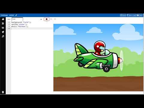 Make JavaScript games with drag and drop coding