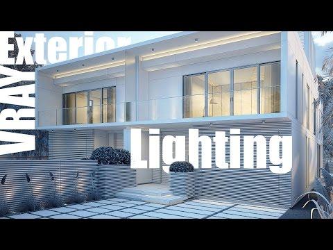 VRay Exterior Lighting & Rendering
