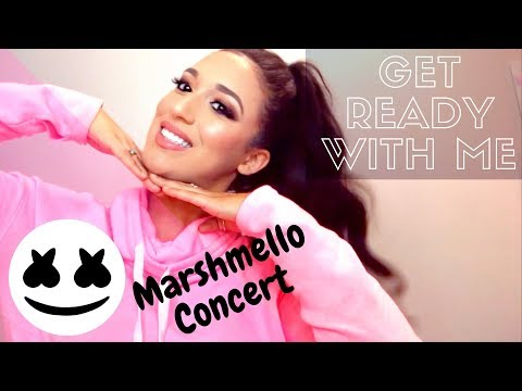 GET READY WITH ME : Marshmello Concert