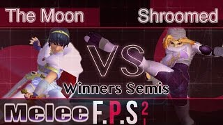 MSF|The Moon (Marth) vs. IMT|Shroomed (Sheik) - Melee Winners Semis - FPS2