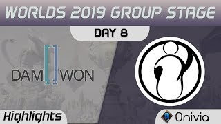 DWG vs IG Highlights Worlds 2019 Main Event Group Stage Damwon Gaming vs Invictus Gaming by Onivia