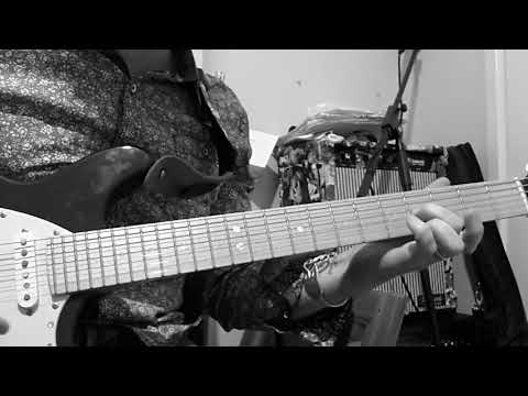 Primitive by The Cramps, Slow Tutorial/ Cover