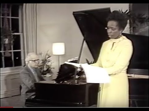 Samuel Barber and Esther Hinds Perform Sleep Now, 1977