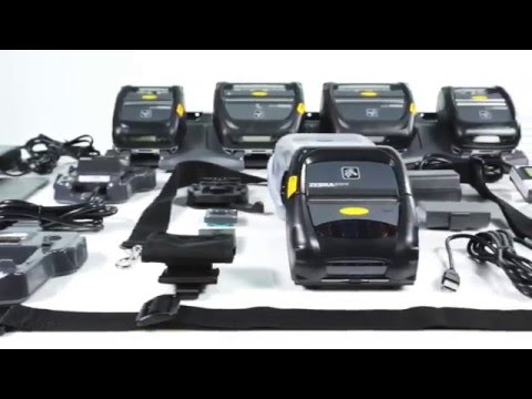 Do Business Anywhere - Zebra ZQ500 Series Portable Label Printers