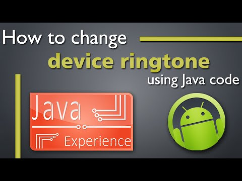 Change Device Ringtone From Code