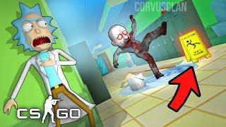 CSGO - EXPERIMENTO SALE MAL EN CASA DE RICK Y MORTY !! NIÑO ZOMBIE EN CAMINO !!- Hide and Seek