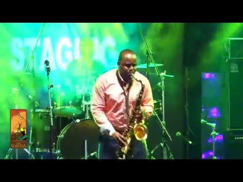 Different Faces Band perform EmergencyD'Banj Live at the Koroga Festival