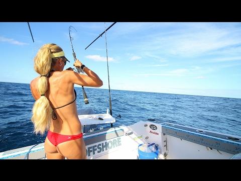 Florida Offshore Mahi Saltwater Fishing Ft. ANGRY BIRDS