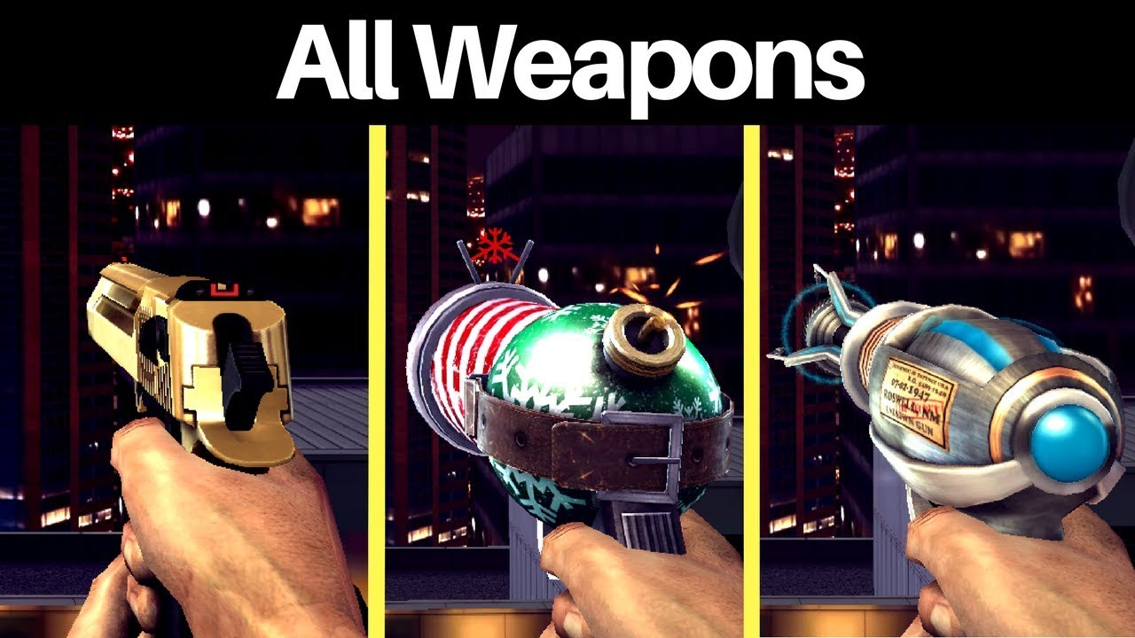 Dead Trigger 2 All Weapons Sounds Animations Youtube