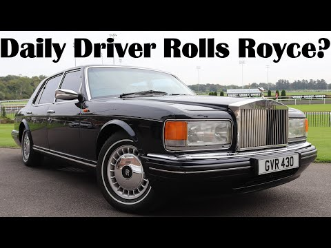 Rolls Royce Silver Spirit – The Daily Driver Rolls Royce? (1997 Silver Spur Driven)