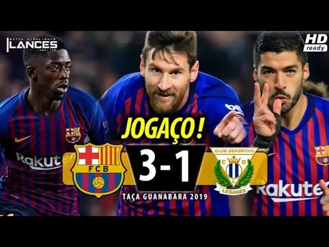Campeonato Espanhol ВаґсєІопa 3 x 1 Lєgaпєs (HD 60fps) SHOW do ET e Dє