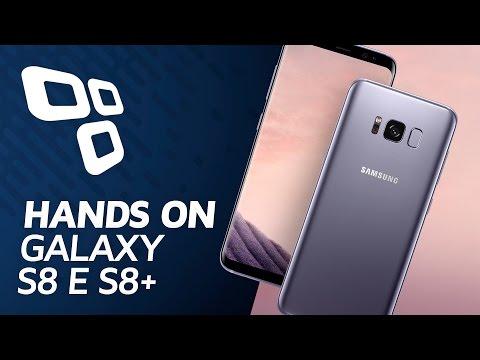 Galaxy S8 e S8 Plus [Hands-On] - TecMundo