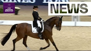 3 in a row! Isabell Werth wins again in Lyon | FEI Dressage World Cup™