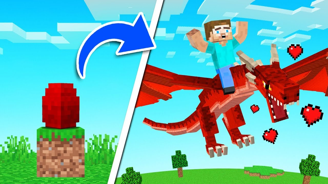 We Hatched EGGS Into DRAGON PETS! (Minecraft)