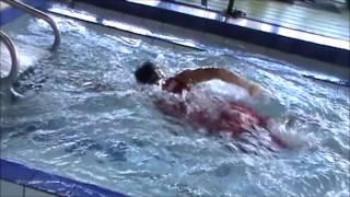 Técnica de Libre en piscina sin fin - Natación