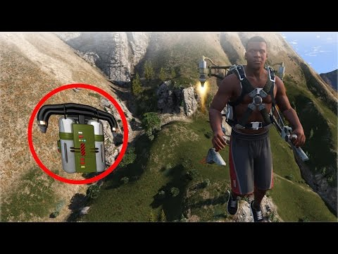 HOW TO GET THE JETPACK IN GTA 5! CHILLIAD MYSTERY SOLVED (joke)