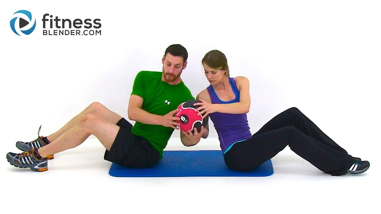 Partner Workout with Kelli & Daniel - Fitness Blender's 100th Free ...