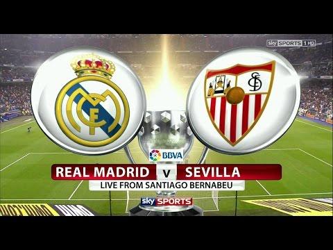 Real Madrid vs Sevilla Live Stream La Liga 2017 Match 15 1 2017
