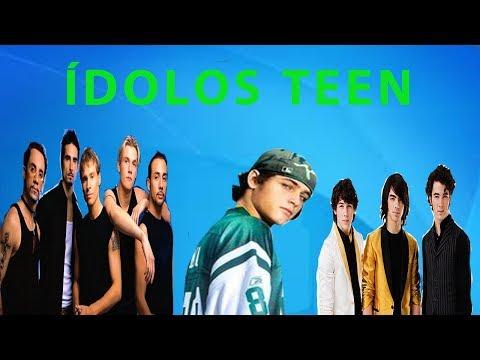 Ídolos Teen - Memória Jovem