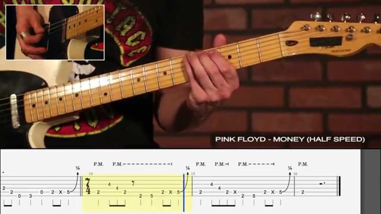 "How to play ""Money"" by Pink Floyd - Legendary Riff #2"