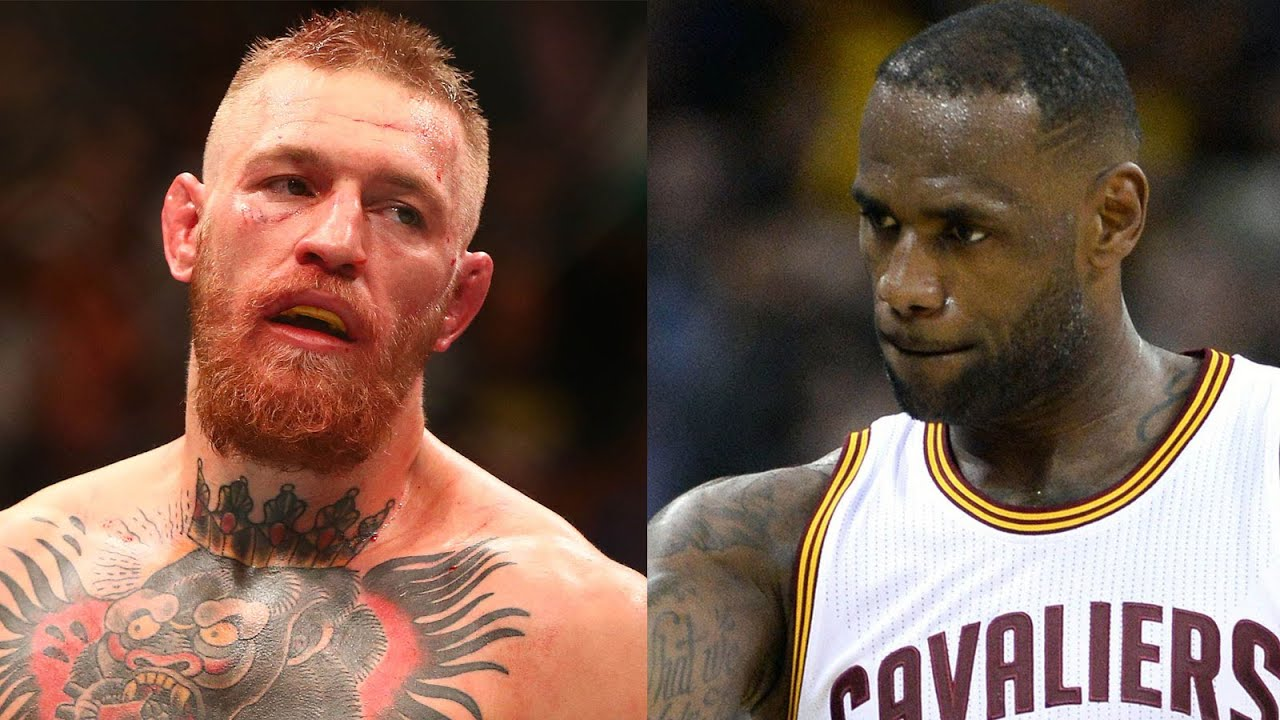 Image result for lebron james and conor mcgregor