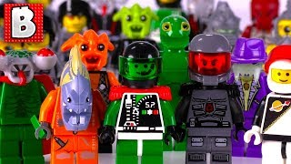 Every LEGO Space Police Minifigure Ever Made!!! | Collection Review