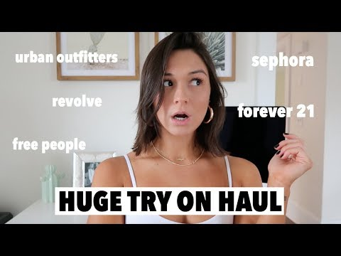 the biggest fall try on haul...ever